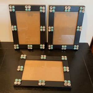 Picture Frames ~ Set of 3 ~ 3.5 x 5.5